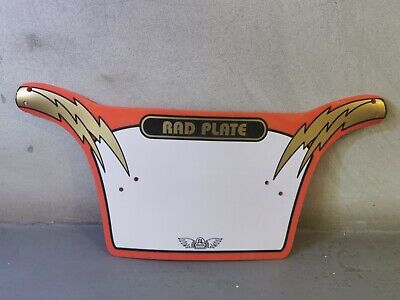 £20 • Buy SE Racing Face Plate Number PK Ripper Mike Buff Rad Red