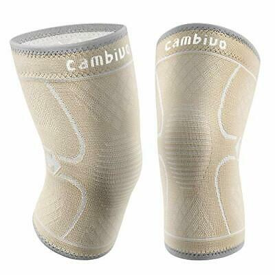 $20.71 • Buy CAMBIVO 2 Pack Knee Brace Knee Compression Sleeve For Men And Women Knee Supp...