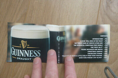 £2 • Buy Very Rare Guiness 2003 Pure Magic Promotional Book
