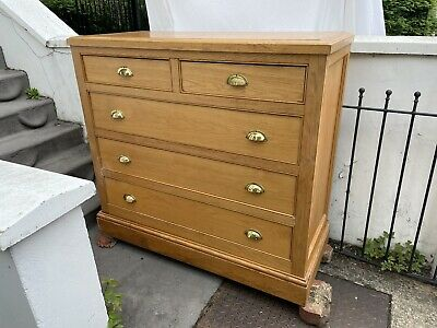 £70 • Buy Solid Oak Very Large Chest Of Drawers