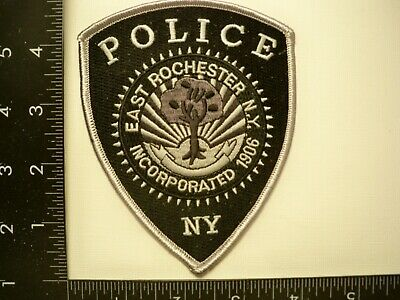 £5.76 • Buy East Rochester, New York Police Bike Patrol Patch NYS