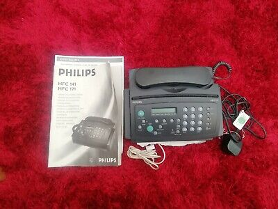 £12 • Buy  Philips Fax, Answer Phone Photo Copier And Telephone Model HFC171.