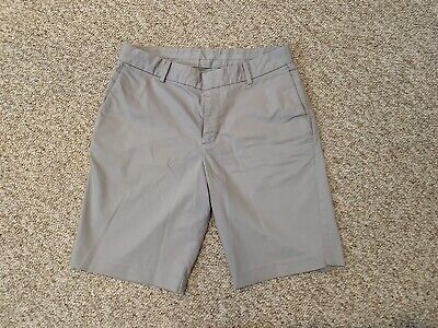 """$26 • Buy Nike Fit Dry Golf Shorts Casual Light Gray Men's Size 30x9"""""""