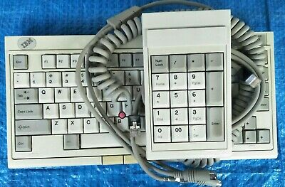 £251.63 • Buy IBM Model M4-1 Vintage + Numeric Keypad +cables. US Made By Key Tronic. Mint.
