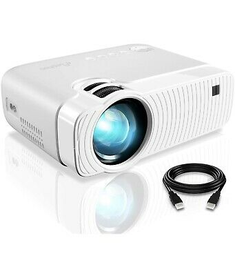 £17 • Buy ELEPHAS 4500 Lumens 1080P Portable Projector For Home Theater - White