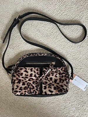 £4 • Buy Leopard Print Cross Body Bag, DP Accessories, Brand New With Tags