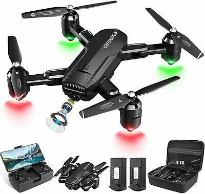 £6.60 • Buy Geekera 1080P HD FPV RC Foldable Drone For Adult With Live Video