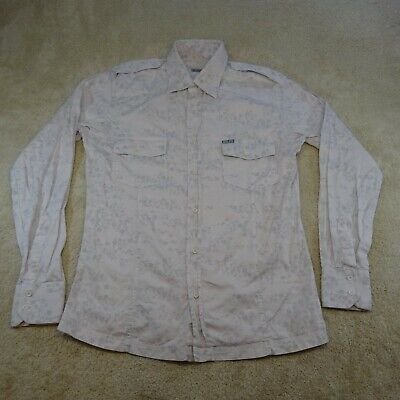 £15.55 • Buy Henleys Button Up Shirt Adult Extra Large White Long Sleeve Casual Cotton Mens *