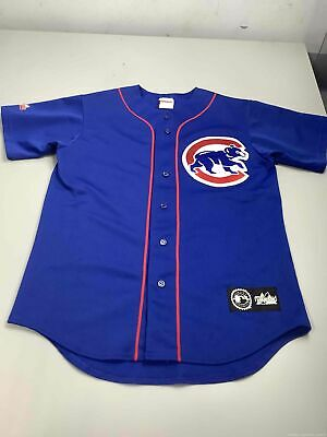 $24.50 • Buy Men's Majestic Chicago Cubs #21 Sosa Jersey Size M