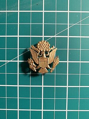 £10 • Buy Vintage Army Military WWII Eagle Crest Pin Badge