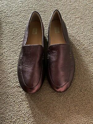 £15 • Buy Fitflop Bronze Shoes Size 5 Perfect Condition Worn Once Lena Loafers