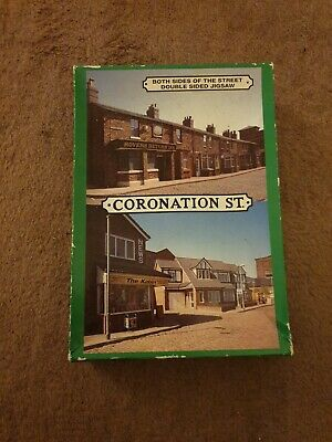 £4.20 • Buy Vintage Coronation Street Double Sized 500 Piece Jig Saw Puzzle