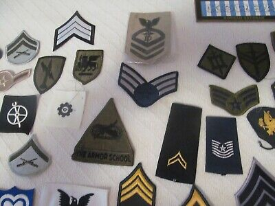 $9.99 • Buy Huge Lot Of 49 Different Military Patches; Army,navy, Marines, Air Force;lot # 1