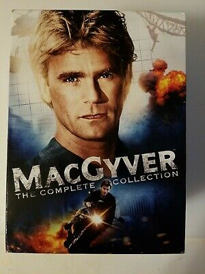$89.95 • Buy MacGyver: The Complete Series (DVD, 2015, 39-Disc Set)