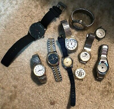$ CDN12.47 • Buy Mixed Lot Of Vintage Mens Watches Wrist Watch - Sharp Railroad & More