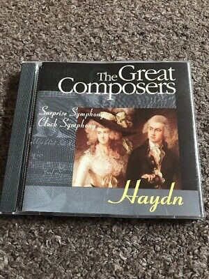 £3 • Buy Haydn - The Great Composers - Surprise Symphony Clock Symphony - CD