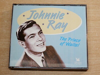 £4.99 • Buy Johnnie Ray/The Prince Of Wails/2004 Readers Digest 3x CD Album