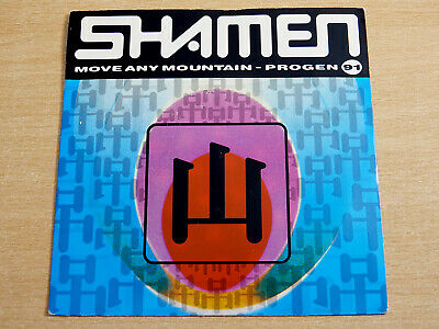 £4.99 • Buy EX-/EX- !! Shamen/Move Any Mountain/1991 One Little Indian 7  Single