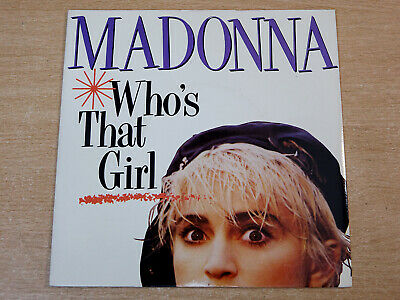 £4.99 • Buy EX/EX !! Madonna/Who's That Girl/1987 Sire 7  Single