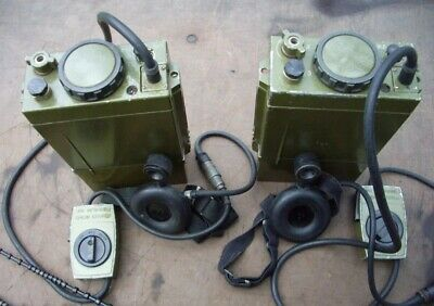 $590 • Buy USSR Soviet Russian Military Radio Stations Of Airborne Troops R-392 (2 Pieces)