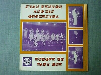 £3 • Buy LP-Stan Kenton And His Orchestra-Europe '53 Vol.1-First Heard FH-49.
