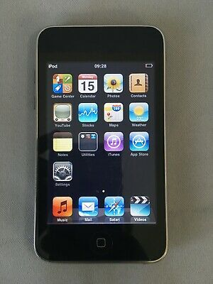 £14.99 • Buy Apple IPod Touch 2nd Generation 8GB Wifi MP3 Music Player A1288 - Black