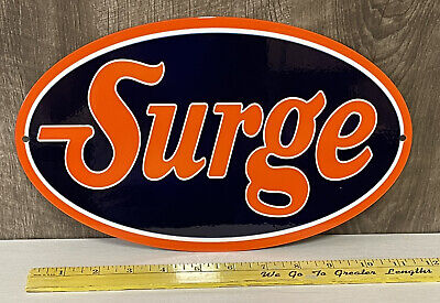 $59.99 • Buy Surge Milker Metal Sign Dairy Farm Equipment Milk Cow Agriculture Gas Oil