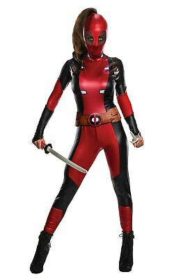 £34 • Buy Ladies Officially Licenced Deadpool Costume Marvel Super Hero Fancy Dress Outfit