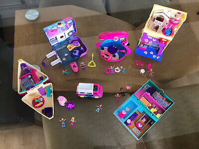 £26.30 • Buy Polly Pocket Bundle With Figures By Mattel