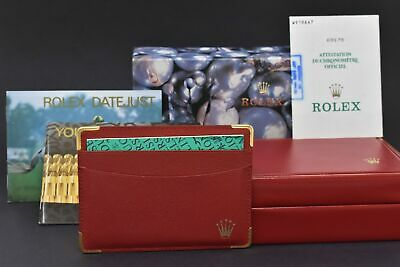 $ CDN259.87 • Buy Rolex Vintage Empty Boxes Rolex Oyster & Red Rolex Boxes With Warranty Cards