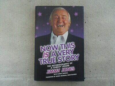 £7 • Buy Jimmy Jones - This Is A True Story Autobiography Signed Hardback Book 1st Edn