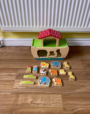 £5 • Buy Early Learning Centre ELC Toys Bundle Noah's Ark Wooden Playset Sorting Figures