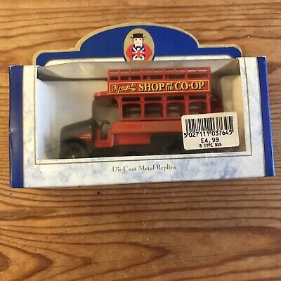 £5.50 • Buy Oxford Diecast B Type Bus - Liverpool St Charing X Piccadilly Circus