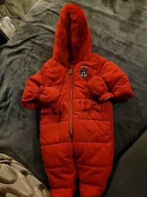 £5 • Buy Minnie Mouse SnowSuit/ Pram All In One 0-3