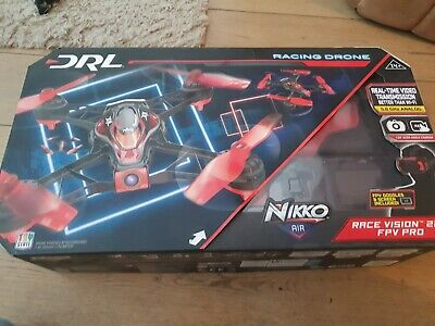 £43.99 • Buy NEW BOXED NIIKO AIR RACE VISION 220 RC FPV PRO RACING DRONE WITH HEADSET 5.8Ghz.