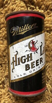 $24.99 • Buy 12oz Miller High Life Girl On The Moon Flat Top Beer Can Marked Kansas