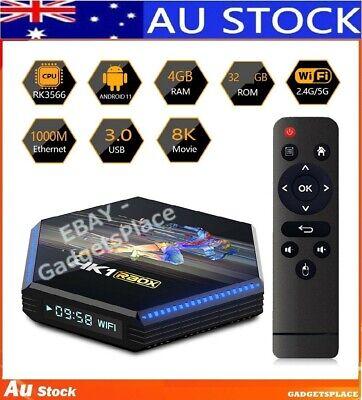 AU105 • Buy ✅AU Stock Latest Out HK1 RBOX R2 TV Box Android 11.0 RK3356 DDR4 4GB + 32GB WiFi