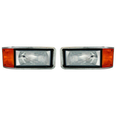 $317.83 • Buy For Mack CH-600 Headlight Combo Assembly 1990-2007 Pair RH And LH MK2502100