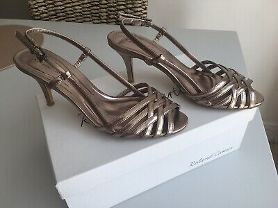 £16 • Buy Ladies Pewter Sandals By Roland Cartier Size 6