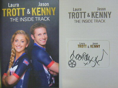 £14.99 • Buy Signed Bookplate In The Inside Track By Jason Kenny, Laura Trott Hdbk Olympics