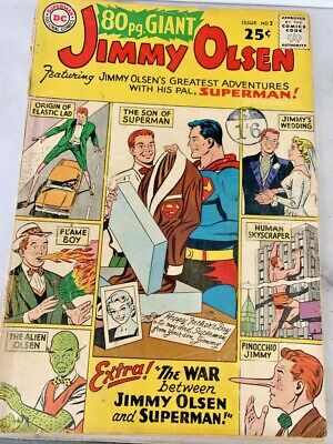 £4.99 • Buy 80 PAGE GIANT No 2 JIMMY OLSEN 1964. BAGGED & BOARDED