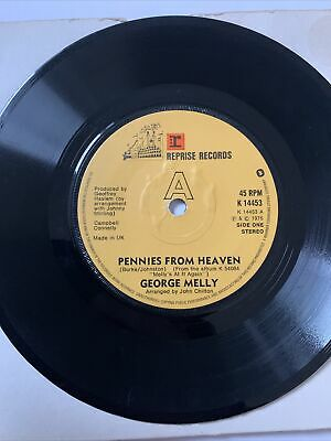 £4.99 • Buy George Melly - Pennies From Heaven / Punch And Judy - 7 Inch Vinyl- Reprise