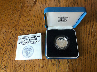 £20 • Buy 1984 Silver Proof £1 One Pound Coin With Coa