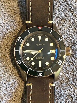 $250 • Buy Aquatico Bronze Sea Star Limited Edition Diving Watch Nh35a  Automatic Movement