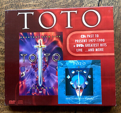 £7.50 • Buy TOTO CD Past To Present 1977-1990 & DVD Greatest Hits, Live And More