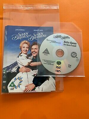 £1.79 • Buy  Seven Brides For Seven Brothers (DVD, 2001) No Case Disc & Cover Only FREE POST