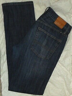 $27.95 • Buy LUCKY BRAND Mens 221 ORIGINAL STRAIGHT-LEG FIT DISTRESSED JEANS~Size 32 X 34