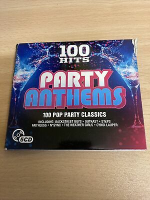 £2.99 • Buy Various - 100 Hits: Party Anthems (2016)  5CD  SPEEDYPOST
