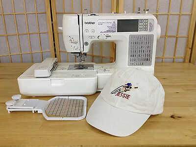 £10.78 • Buy Cap/Hat Hoop For Brother Marvel LB5000M SE600 PE535 PE550D  Embroidery Machine