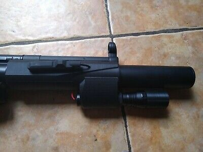 £30 • Buy 3D Printed Flashlight Handguard For Airsoft Toy- CYMA And JG MP5 SD Series AEG